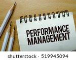 performence management text... | Shutterstock . vector #519945094