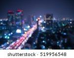 Abstract Urban City Night Ligh...