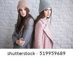 a hipster casual girls with... | Shutterstock . vector #519959689