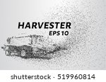 harvester of particles. the...   Shutterstock .eps vector #519960814