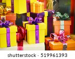 Colorful Presents Gift Boxes...