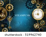 Turquoise  Textured  Steampunk...