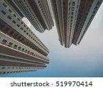skyscraper buildings and sky... | Shutterstock . vector #519970414