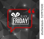 abstract vector black friday... | Shutterstock .eps vector #519972430