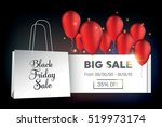 abstract vector black friday... | Shutterstock .eps vector #519973174