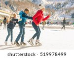 Happy Family Outdoor Ice...