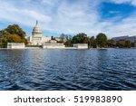 daytime landscape us capitol... | Shutterstock . vector #519983890