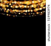 christmas lights design... | Shutterstock .eps vector #519983974