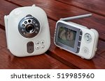 the closeup baby monitor for... | Shutterstock . vector #519985960