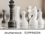 chess game. conceptual image...   Shutterstock . vector #519996034