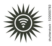 wifi icon illustration isolated ...