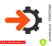 gear integration eps vector... | Shutterstock .eps vector #520021060