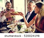 restaurant chilling out classy... | Shutterstock . vector #520024198