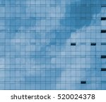 front view of sky and cloud... | Shutterstock . vector #520024378