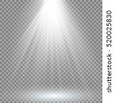 vector spotlight. light effect | Shutterstock .eps vector #520025830