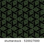 abstract geometric seamless... | Shutterstock .eps vector #520027000