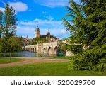 Salamanca Skyline And Roman...