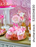 cakes for the holiday. | Shutterstock . vector #520034830