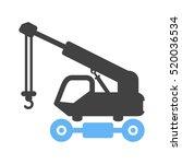 lifter crane | Shutterstock .eps vector #520036534