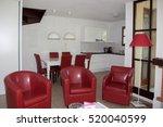 modern  bright  clean  living... | Shutterstock . vector #520040599