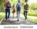 education students people... | Shutterstock . vector #520043404