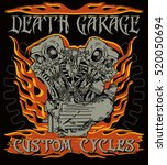 """death garage custom cycles""... 