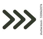 arrow icon illustration... | Shutterstock .eps vector #520062076