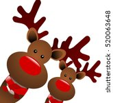 Christmas Reindeers With A...
