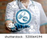 pharmacy  medicine and... | Shutterstock . vector #520064194