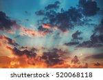 Sunset Cloudscape. Beautiful...