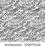 vector brush grunge scribble... | Shutterstock .eps vector #520075120