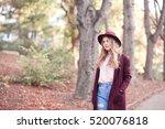 stylish teen girl 14 16 year...   Shutterstock . vector #520076818