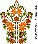hungarian folk art | Shutterstock .eps vector #520078339