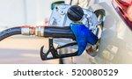 car refueling on a petrol... | Shutterstock . vector #520080529