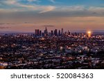 Aerial View  Downtown Los...