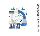 modern vector icon of marketing ... | Shutterstock .eps vector #520086640