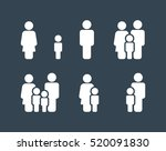 family icons set. vector . flat ...