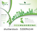 ecology connection  concept... | Shutterstock .eps vector #520096144