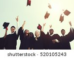 successful masters phd... | Shutterstock . vector #520105243