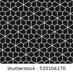 geometric seamless pattern with ... | Shutterstock . vector #520106170
