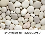 Stock photo white pebbles background simplicity daylight stones 520106950