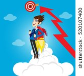 businessman manager marketing...   Shutterstock .eps vector #520107400