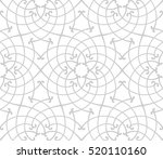 stylish seamless pattern.... | Shutterstock .eps vector #520110160