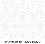 seamless linear pattern with... | Shutterstock .eps vector #520110220