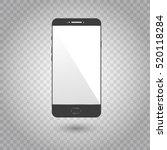 realistic detailed smartphones...   Shutterstock .eps vector #520118284