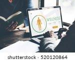 calorie counter health diet app ...   Shutterstock . vector #520120864