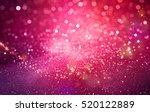 Abstract Pink Bokeh Christmas...