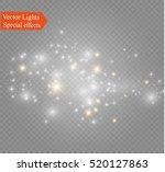glow light effect. vector...   Shutterstock .eps vector #520127863