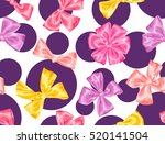 seamless pattern with... | Shutterstock .eps vector #520141504