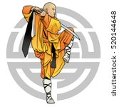 Shaolin Monk With Sword And...